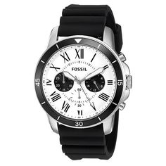 d924b8fc1b6 Grant Sport Chronograph White and Black Dial Men s Quartz Watch
