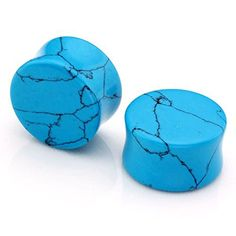D&Min Jewelry Pair Blue Howlite Turquoise (Synthetic) Flared Saddle Tunnels Ear Plugs Expander Fashion Piercing 10MM D&Min Jewelry http://www.amazon.co.uk/dp/B0148A8LHQ/ref=cm_sw_r_pi_dp_8lnFwb0TJHJRN