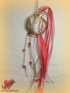 γούρι 2017 Lucky Charm, Plant Hanger, Macrame, Charms, Pendant Necklace, Jewelry, Home Decor, Homemade Home Decor, Jewlery