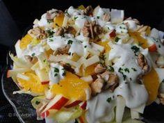 Fruchtiger Wintersalat mit Chicorée
