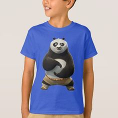 Shop Po Posing T-Shirt created by kungfupanda. Personalize it with photos & text or purchase as is!