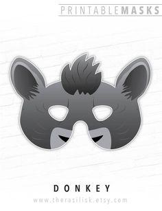 Nativity Set Costume, Donkey Printable Mask, # #nativitysetcostume #donkey #printablemask #donkeyanimalmask #nativitymasks #shrekmask #nativityanimals #halloweenmasks #eeyoremask #smallone #assmask #mulemask #grayhorse Printable Halloween Masks, Printable Animal Masks, Halloween Costumes For Kids, Easy Costumes, Animal Masks For Kids, Mask For Kids, Animal Themed Birthday Party, Nativity Costumes, Christmas Shows