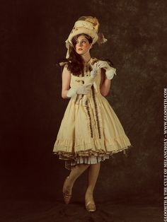 St.Gloomth Academy Day Ruffled #WeddingDress Your Size by gloomth on Etsy, $120.00 #Goth #Gothic