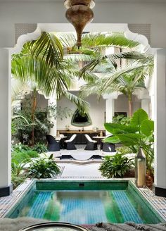 8 Timely Hacks: Natural Home Decor Ideas Reading Nooks natural home decor rustic house.Natural Home Decor Inspiration Color Schemes natural home decor diy dreams.All Natural Home Decor Window. Indoor Swimming Pools, Swimming Pool Designs, Style At Home, Patio Interior, Interior And Exterior, Interior Design, Interior Paint, Outdoor Rooms, Outdoor Living