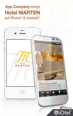 HOTEL MARTEN App: App Company Oberösterreich - die Appagentur aus Linz - bringt das Hotel MARTEN - auf iPhone® & Android®
