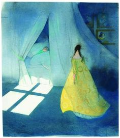 Lisbeth Zwerger ~ The Brave Little Tailor-Tales From the Brothers Grimm