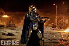 Captain Phasma Empire image Disney Announces Star Wars Partnership With Google; New Captain Phasma Image