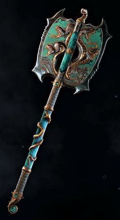 L Fantasy Sword, Fantasy Weapons, Anime Fantasy, Fantasy Images, Fantasy Artwork, Sci Fi Weapons, Arm Armor, Weapon Concept Art, Red Art