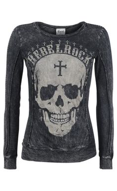 Vocal Skull Long-Sleeved Shirt ~ Emp