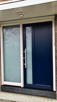 Natuursteen dorpel bij kunststof deur koude onderbroken Windows, Outdoor Decor, Decor, Garage Doors, Home, Doors, Home Decor