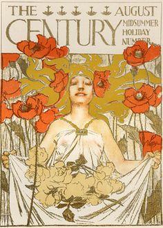 By Joseph Leyendecker (1874-1951), The Century, August.