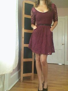 I love dresses with pockets :)