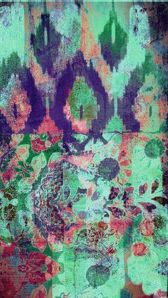 wall art~ designed by Tracy Porter Poetic . Textiles, Textile Prints, Textures Patterns, Print Patterns, Joan Mitchell, Art Aquarelle, Robert Rauschenberg, Art Abstrait, Wall Art Designs