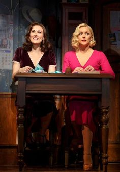 Laura Benanti and Jane Krakowski. Photo: Joan Marcus