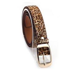 La Mia Cara Jewelry - Leopardo Cintura Di Pelle - 4 Variants Leather Belt Woman
