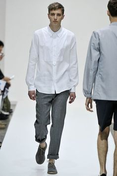 """""""Loved the rolled-up trousers and the fitted shirts at Margaret Howell."""""""