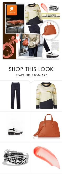 """Popmap 43"" by melissa-de-souza ❤ liked on Polyvore featuring Furla, David Yurman, NARS Cosmetics and popmap"