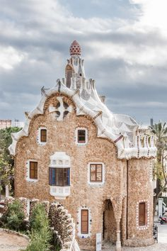 One of my memories of Spain is the amazing Gaudi architecture!  Gaudi, Parque Guell, Barcelona, Catalonia, Spain / España