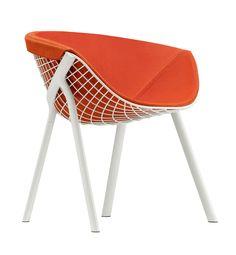 Chair Comfort Furniture Parametric Patrick Norguet Structure White