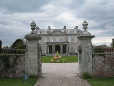 Antony House, Torpoint, Cornwall - the Mansion used in the Alice in Wonderland movie.
