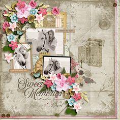 Digital Art :: Templates :: Sweet Memories Templates