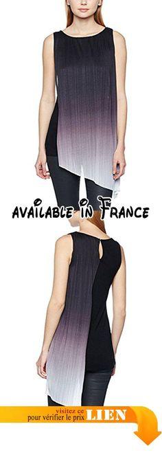B06XHFS4CS   Premier - Chemisier - Manches Longues - Femme - noir ... 71a993f9a39b