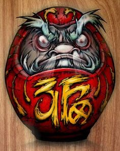 daruma doll tattoo - Google Search