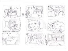Short Movie Blank Storyboards  Google Search  Storyboard