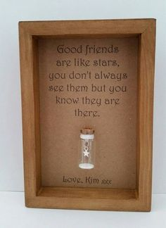 Best friend gift, Friend gift, Friendship gift, Long distance friend, Gift for friends. Can be personalised with names or your own message.