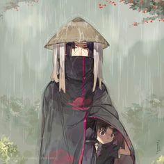 Itachi Uchiha and Sasuke Uchiha #naruto #uchiha