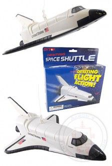 Orbiting Space Shuttle Flies in Circles | Space Race & Rockets | TinToyArcade |097138759993