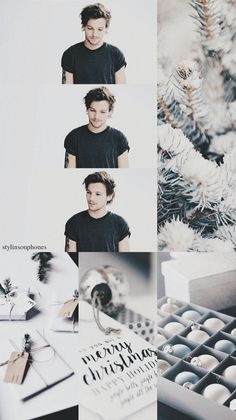 Louis Tomlinson Winter Lockscreen | ctto: @stylinsonphones Christmas Lockscreen, Christmas Wallpaper, Christmas Quotes, Christmas Pictures, Luxury Christmas Gifts, Bon Point, One Direction Pictures, Louis Williams, Treat People With Kindness