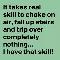 Yeah!!! I am SKILLED, people!