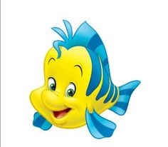 flounder little mermaid - Google Search