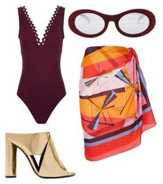 """summer vibes"" by duygu-ebcim-ozgul on Polyvore featuring Karla Colletto, Tom Ford, Forever 21 and Emilio Pucci"