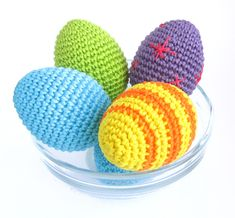 Free Pattern - Easter Eggs