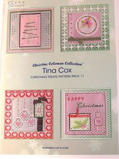 PATTERN PACK 11 - CHRISTMAS TREATS BY TINA COX