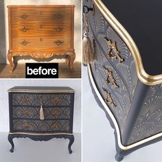 """Aleksandra's Furniture on Instagram: """"Before and after 😍 Available for sale!! #fromtrashtotreasure #furniture  #paintedfurniture #trondheim  #Aleksandrasfurniture  #oppusing…"""" Trondheim, Painted Furniture, Storage Chest, Instagram, Home Decor, Decoration Home, Room Decor, Home Interior Design, Home Decoration"""