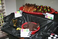 Car themed food.