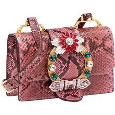 Miu Miu SHOULDER BAG (45.075.500 IDR) ❤ liked on Polyvore featuring bags, handbags, shoulder bags, leather handbags, genuine leather handbags, leather shoulder handbags, red shoulder bag and miu miu handbags