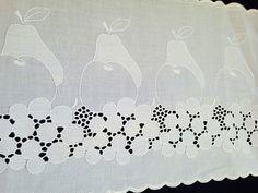 +❤2m+Wäsche/GardinenSpitze/weiß+21cm+DDR+Küche++++von+Mypatchworld+auf+DaWanda.com