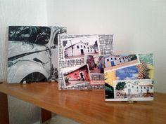 Azulejos 20 cm x 20 cm, 15 cm x 15 cm e Porcelanato 10 cm x 10 cm
