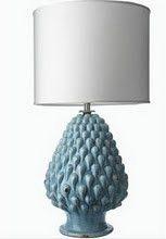 Very cool artichoke lamp