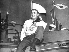 Andrew Higgins, a local industrialist of New Orleans, created a boat that was pivotal for victory during the second World War.