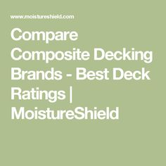 Composite deck using fiberondecking castle grey decking for Compare composite decking brands