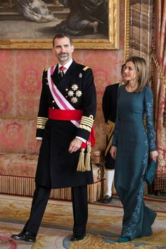 King Felipe and Queen Letizia attended their first ever Military Easter as King and Queen of Spain. 06/01/2015