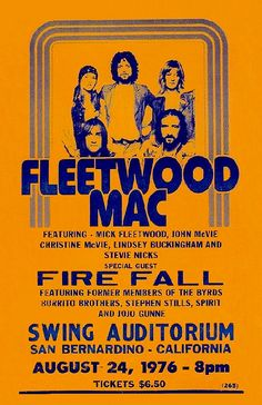 Rock Posters, Band Posters, Music Posters, Vintage Concert Posters, Vintage Posters, Woodstock Poster, Mick Fleetwood, Music Flyer, Music Quotes