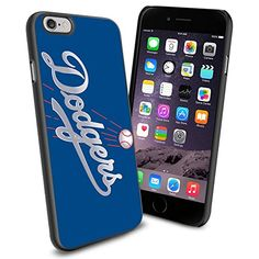 MLB LA Los Angeles Dodgers Baseball, Cool iPhone 6 Smartphone Case Cover Collector iPhone TPU Rubber Case Black Phoneaholic http://www.amazon.com/dp/B00U0MZY6I/ref=cm_sw_r_pi_dp_PlInvb0VX64WJ