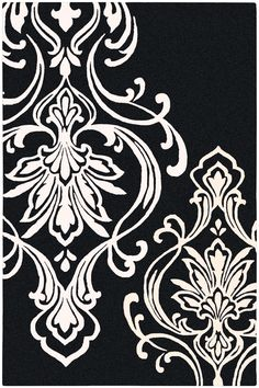 This glam Surya Modern Classics rug by Candice Olson (CAN-1951) is available in many color ways.
