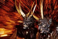 Something wicKED this way comes....: Fiendishly Festive Friday's Krampus Collection (Creepmas Day 7)